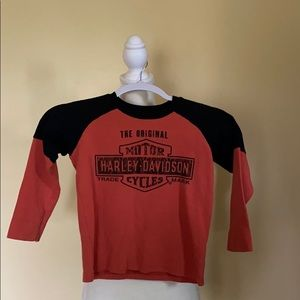 Youth Harley Davidson shirt